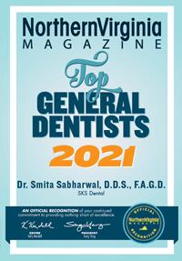 Arlington Magazine - Top General Dentist 2021
